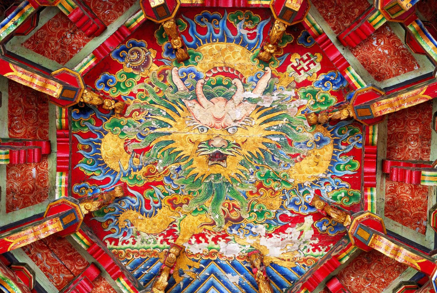 china, ceiling