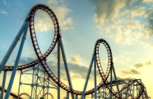 http://www.shutterstock.com/pic-81827446/stock-photo-panoramic-shot-of-a-roller-coasters-loop-at-sunset.html