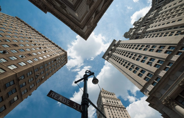 http://www.shutterstock.com/pic-140242396/stock-photo-a-shot-taken-from-a-street-corner-pointing-high-to-sky-showing-the-top-of-the-tall-skyscrapers-of-new-york-city-a-sensation-of-vertigo.html