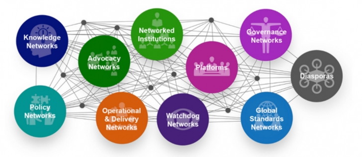 Ten Types of Global Solution Networks