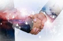 https://www.shutterstock.com/pic-401268607/stock-photo-double-exposure-of-businessman-handshake-on-industrial-business-background-connections-concept-elements-of-this-image-furnished-by-nasa.html