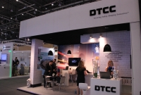 DTCC booth, Sibos
