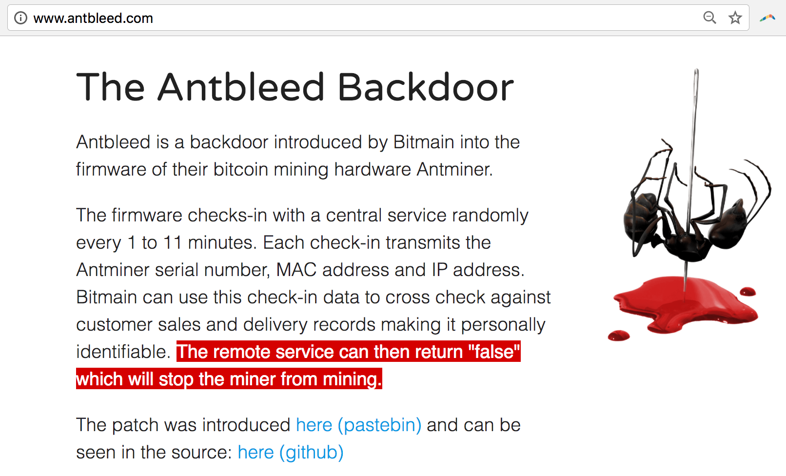 Antbleed: Bitcoin's Newest New Controversy Explained - CoinDesk