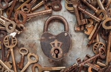https://www.shutterstock.com/image-photo/vintage-rusty-padlock-surrounded-by-old-150227420