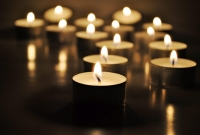 candles, funeral
