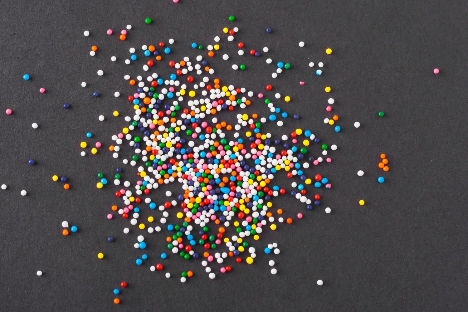 marbles, dots