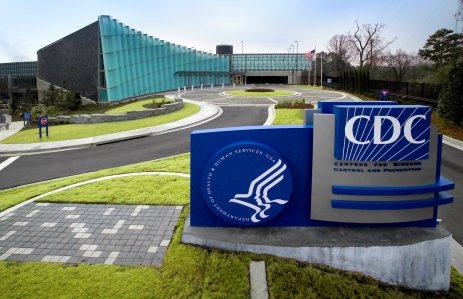 """Captured by James Gathany, Centers for Disease Control's biomedical photographer, this 2006 image depicted the exterior of the new """"Tom Harkin Global Communications Center"""", otherwise known as Building 19, located on the organization's Roybal Campus in Atlanta, Georgia. The facility houses the CDC's Information Center/Library, auditoria and meeting halls, which are used to accommodate in-house staff meetings, and national/international conferences hosted by the CDC, and the National Center for Health Marketing's, Division of Creative Services, which includes a full service television broadcast facility.  The exhibit area currently features the <i>""""Global Symphony""""</i>, the first of several permanently installed exhibitions, and changing exhibitions that focus on a variety of public health topics. The exhibits in the Center are self-guided, and require no advance reservations. Additional curriculum-based exhibits and programming will be added in the future.<p><u>Tom Harkin Global Communications Center Exhibit Area Centers for Disease Control and Prevention</u><p>- 1600 Clifton Road, N.E., Atlanta, Georgia 30333<p>- Hours: Monday – Friday, 9 am – 5 pm, except for federal holidays Admission is free<p>- Government-issue photo ID is required for entry. Please note that CDC is a working federal facility and as such does not provide public tours of its campus and laboratories.<p>- For more information please call 404-639-0830."""