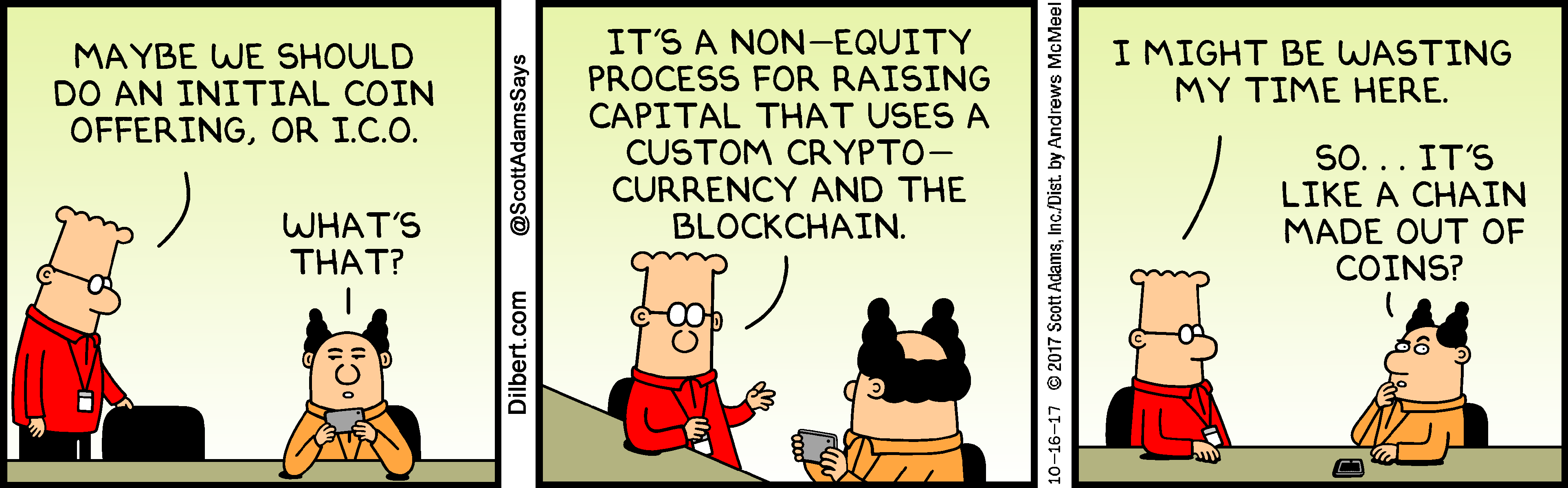 why is dilbert drawn differently
