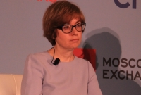 First deputy governor, Russia's central bank, Ksenia Yudaeva,