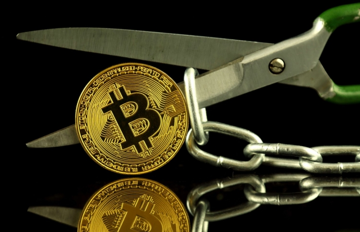 https://www.shutterstock.com/image-photo/physical-version-bitcoin-scissors-chain-conceptual-740166922