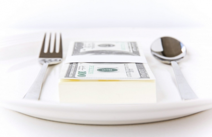 https://www.shutterstock.com/image-photo/dollar-on-dish-79473205