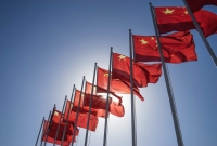 china, flags