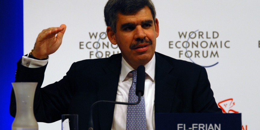DUBAI/UAE, 08NOV08 - Mohamed A. el Erian, Managing Director, Co-Chief Information, Officer, Pacific IINvestment Management Company, USA, at the  Summit on the Global Agenda, 07 November - 09 November 2008. 