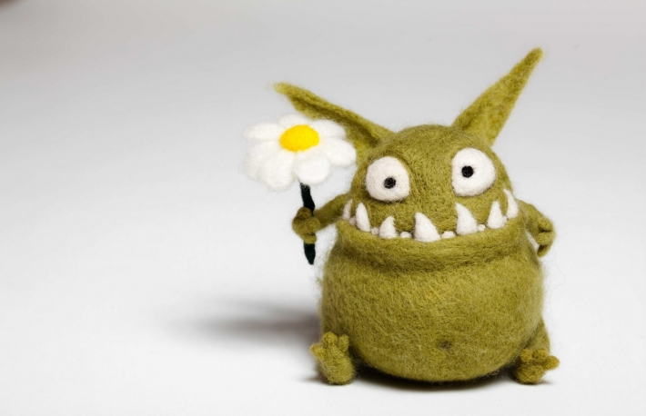 https://www.shutterstock.com/image-photo/felted-toy-mosters-flower-126729794