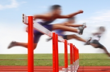 hurdles, obstacles