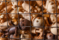 wooden toys, bars