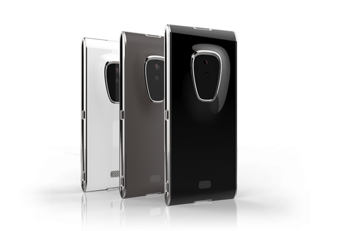 Renderings of the Finney mobile phone. <em>Image courtesy of Sirin Labs.</em>