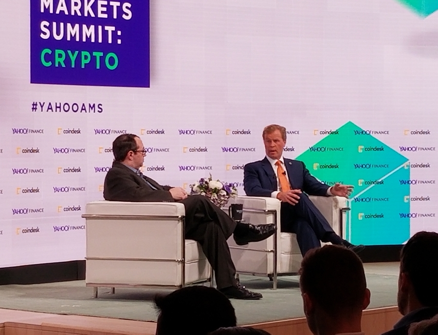 yahoo cryptocurrency summit