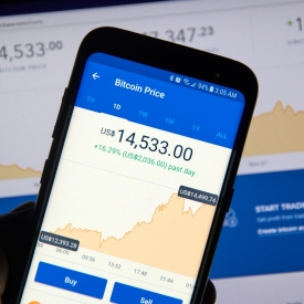 Coinbase Hit With Outage As Bitcoin Price Drops $1 8K in 15