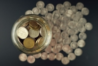 coins, donations