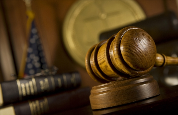 Court gavel image via Shutterstock