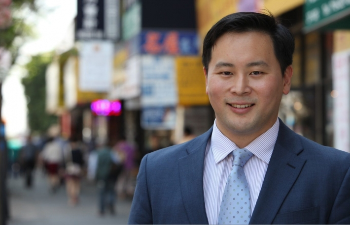 Ron Kim from the New York State Assembly