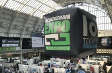 London Blockchain Expo, April 18, 2018, photo by Ian Allison