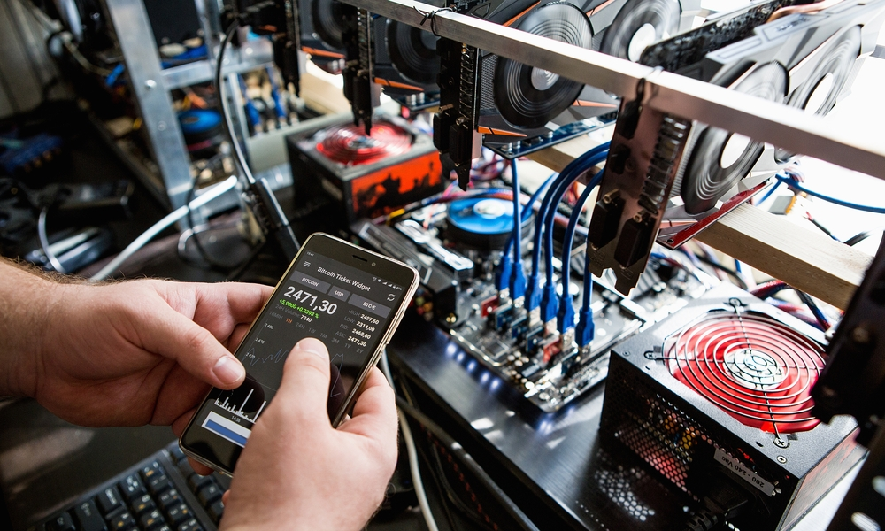 cryptocurrency mining bust