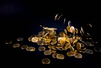 coins, gold