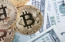 https://www.shutterstock.com/image-photo/golden-bitcoin-coin-on-us-dollars-678193366