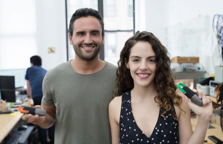 goTenna founders Daniela and Jorge Perdomo