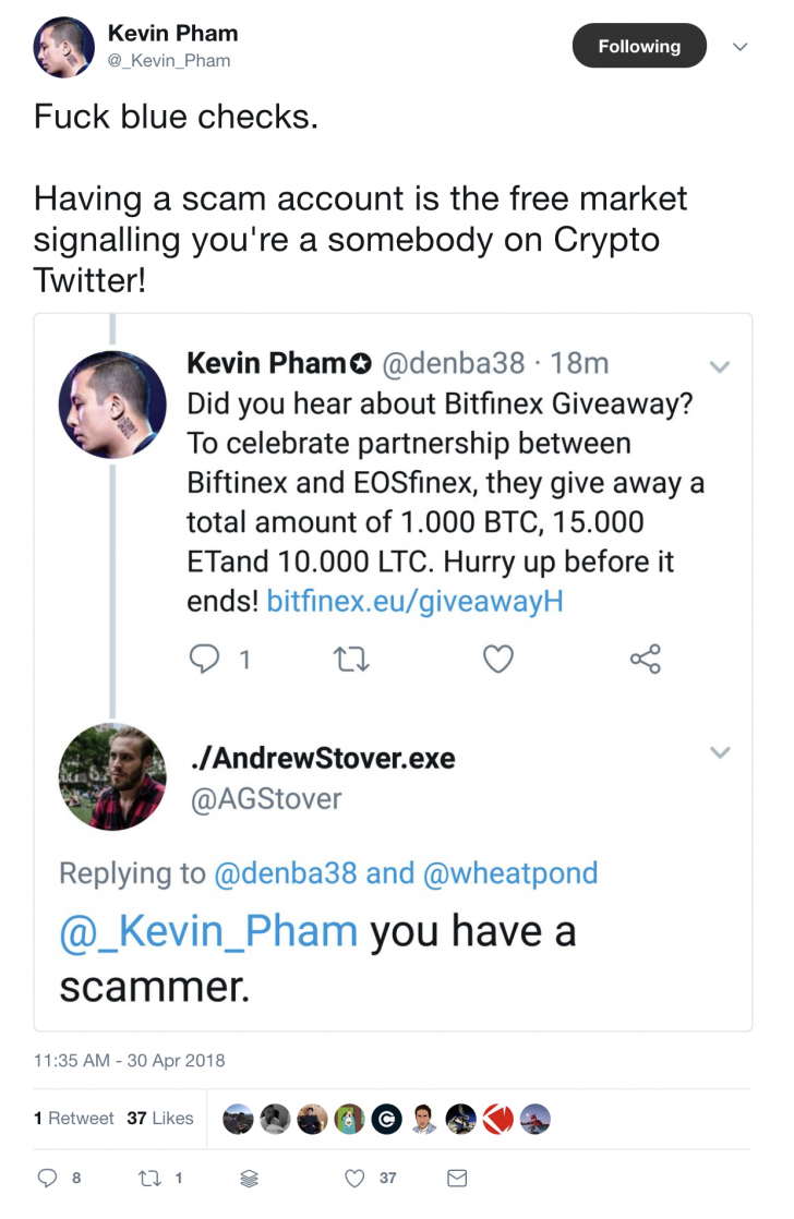 6 Outrageous Moments In Crypto Twitter Scam History - CoinDesk