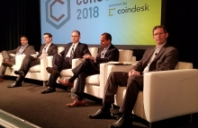 Kiran Raj, CFTC's James McDonald, SEC_News' Robert Cohen,  TheJusticeDept's Sujit Raman and Steve Bunnell by Nikhilesh De