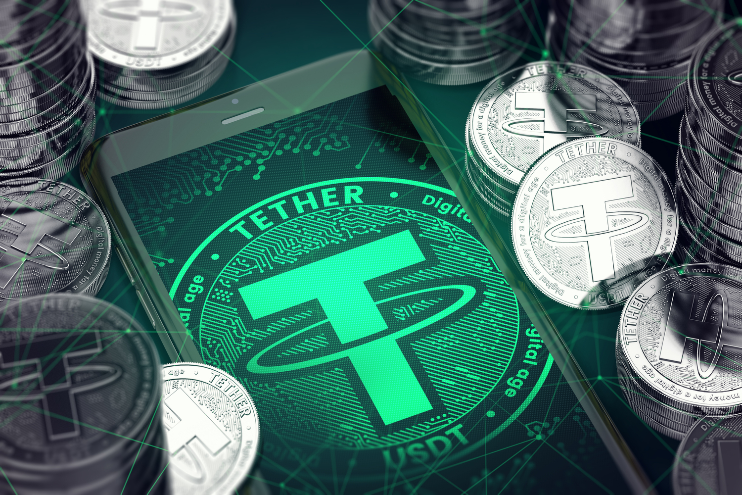 Tether Mints Break Through A New Record Last Week