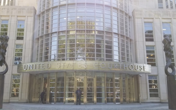 Eastern District of New York Courthouse image by Nikhilesh De for CoinDesk
