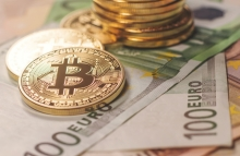 https://www.shutterstock.com/image-photo/golden-bitcoin-euro-background-cryptocurrency-600687182?src=library