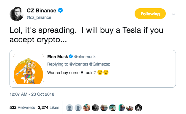 Elon Musk Sparks Speculation With Cryptic Crypto Tweet