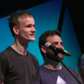 Vitalik Ends Devcon Talk With Sing-Along About Failed Ethereum Ideas