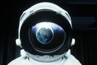 earth, astronaut