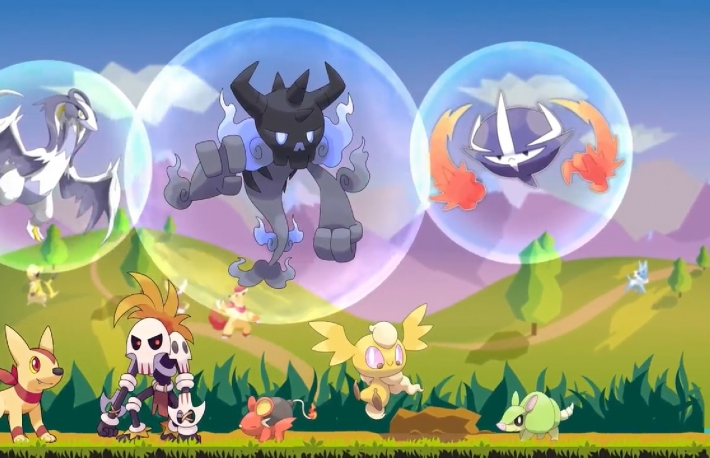 Screen shot from Etheremon's introduction video.   https://www.etheremon.com/