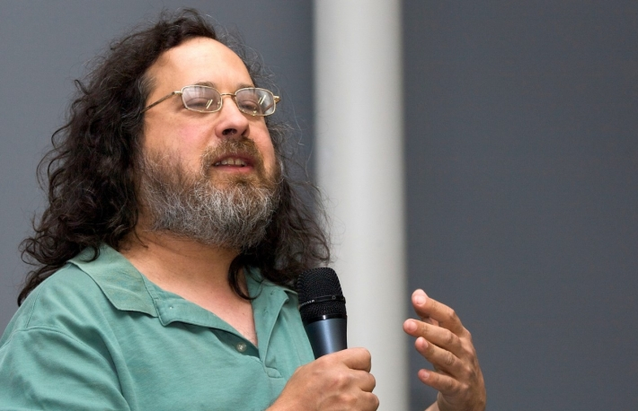 Wikimedia commons/NikoBZH  https://en.wikipedia.org/wiki/Richard_Stallman#/media/File:NicoBZH_-_Richard_Stallman_(by-sa)_(10).jpg