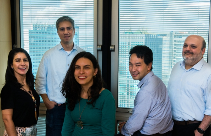 The BNDES token team in Brazil, courtesy of the Brazilian National Social Development Bank