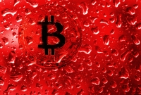 bitcoin, red