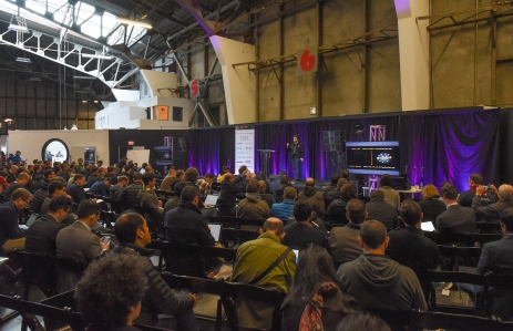 CONSTRUCT 2017 Innovation Hanger SF Jan 30+31 2017 Steven Gregory Photography-5563 crowds  Hudson Jameson Devops, Development, Comms Ethereum Foundation panel speakers