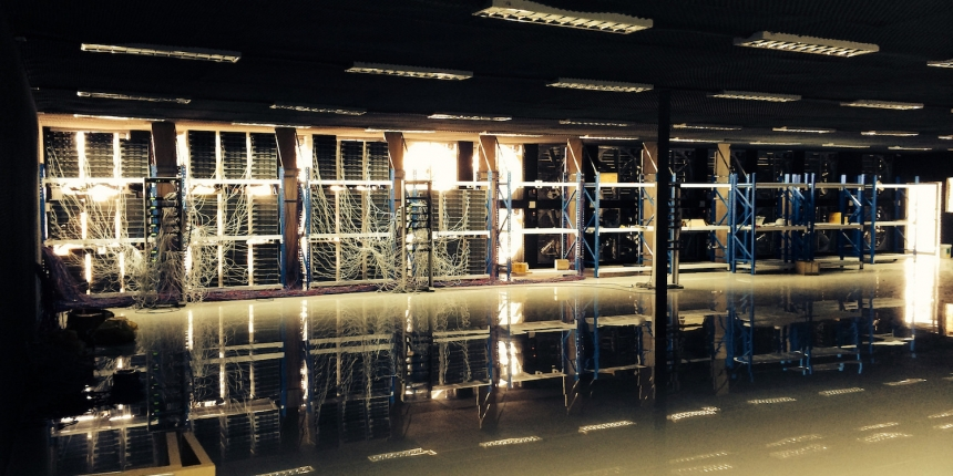 Bitcoin mining facility, from CoinDesk archives