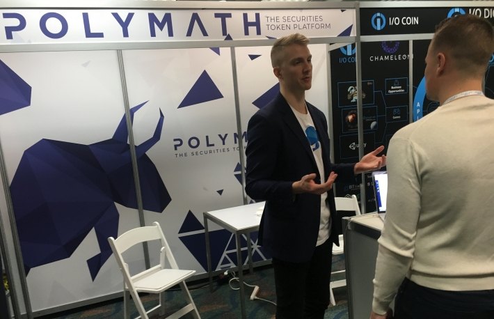 Polymath at Consensus image via CoinDesk archives