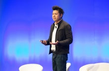 Paul Veradittakit speaks at Consensus: Invest 2018, image via CoinDesk archives