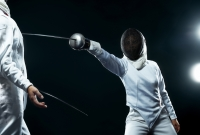 fencer, sabre