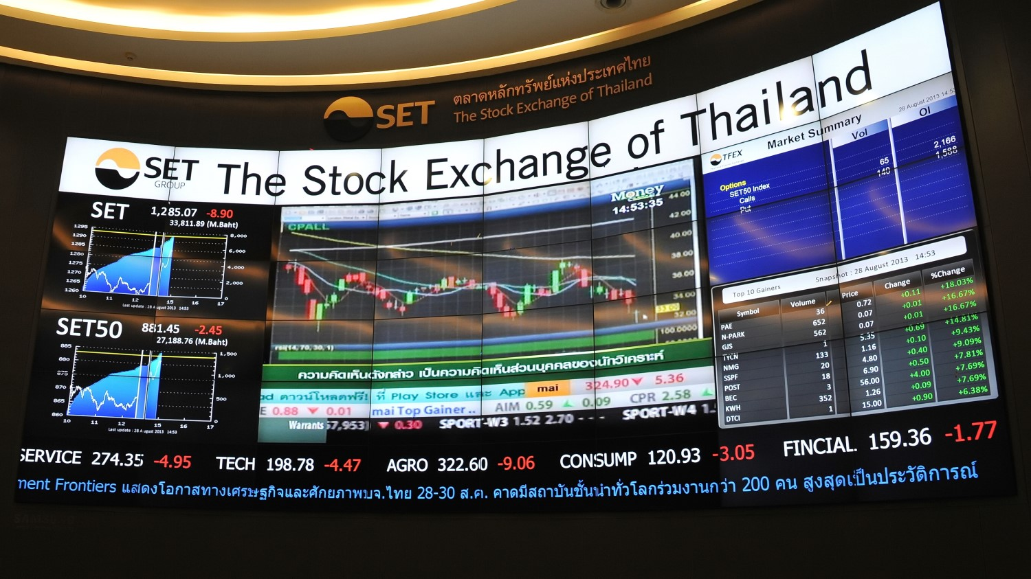 Thai Stock Exchange Plans to Launch a Crypto Trading Platform - CoinDesk