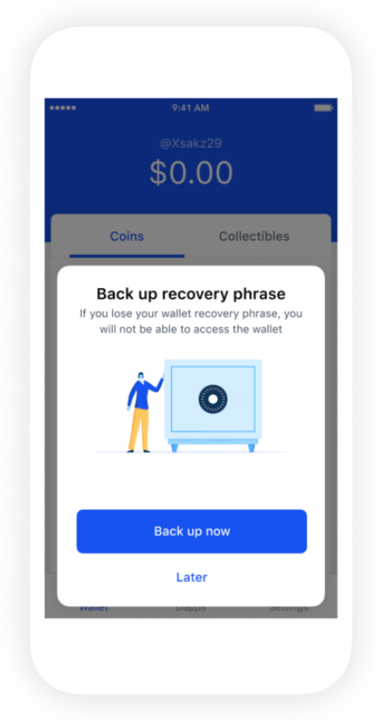 Coinbase Wallet to Feature Private Key Backup on Google